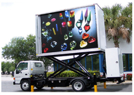 P16mm 2R1G1B Mobile Truck LED Display Portable Led Signs Super Slim