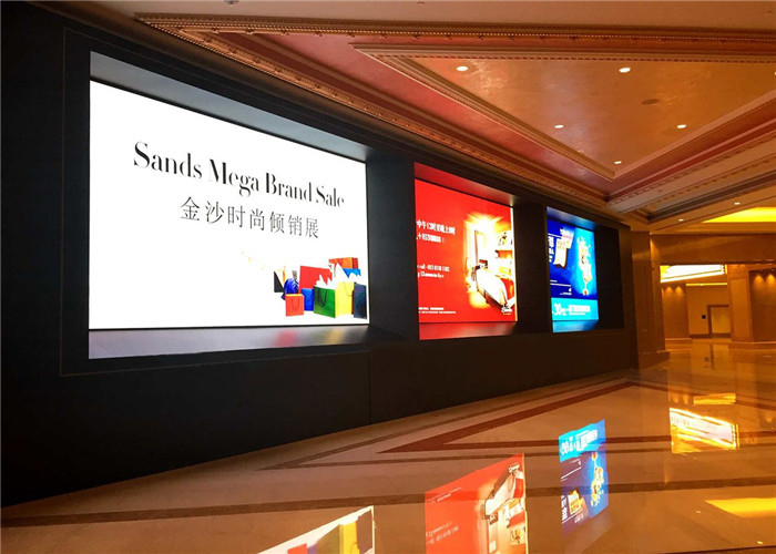 P1.25mm Indoor Fixed Super HD LED Display 3840Hz MBI5153/5353IC Ultra Slim Design Cabinet 400*300mm