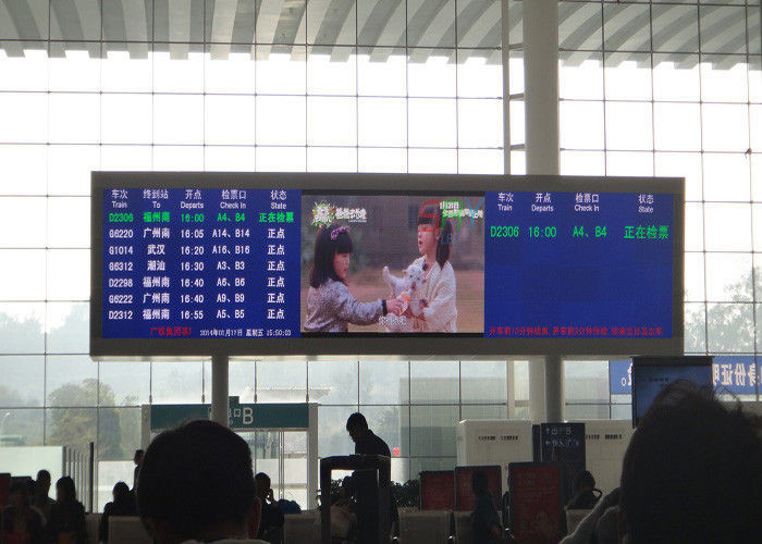 4.81mm Indoor Fixed LED Display For Ceremony Gala Front / Rear Serviceability